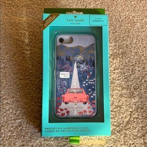 Kate Spade multi road scene iPhone 8/7 Case